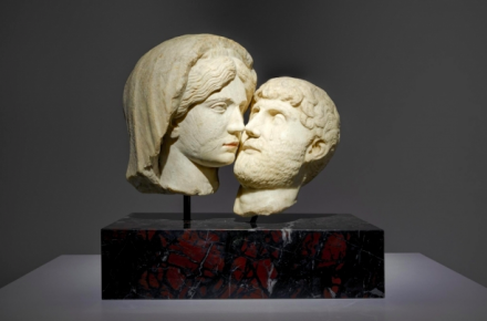 Francesco Vezzoli, Eternal Kiss (2015), via Almine Rech