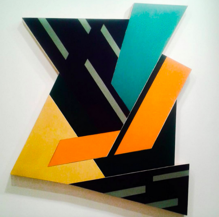 Frank Stella, Felsztyn II (1971), © 2015 Frank Stella : Artists Rights Society (ARS), New York