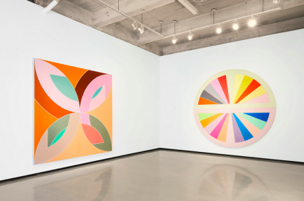 Frank Stella, Flin Flon (1970) and Sinjerli (1967), © 2015 Frank Stella : Artists Rights Society (ARS), New York
