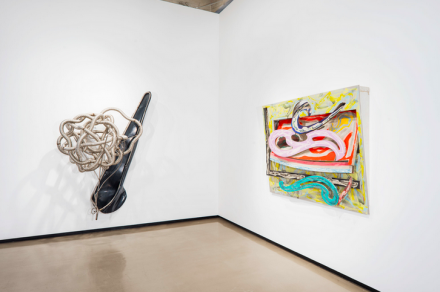 Frank Stella, Kapar (2003) and Eskimo Curlew (3X) (1977), © 2015 Frank Stella : Artists Rights Society (ARS), New York