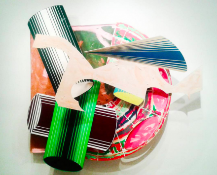 Frank Stella, La Scienza della Fiacca, 3.5 X (1984), © 2015 Frank Stella : Artists Rights Society (ARS), New York