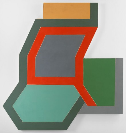 Frank Stella, Sunapee III (1966), © 2015 Frank Stella:Artists Rights Society (ARS), New York