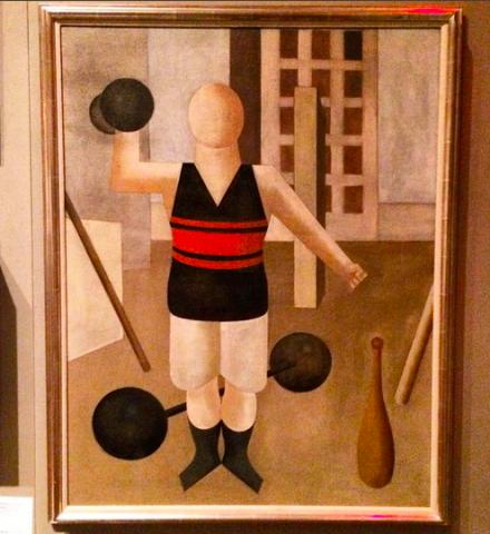 George Grosz, Gymnast (1922), via Art Observed