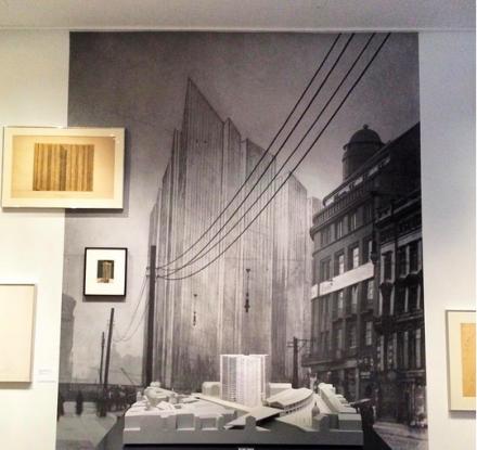 Mies Van Der Rohe's Proposals for Potsdamer Platz, via Art Observed