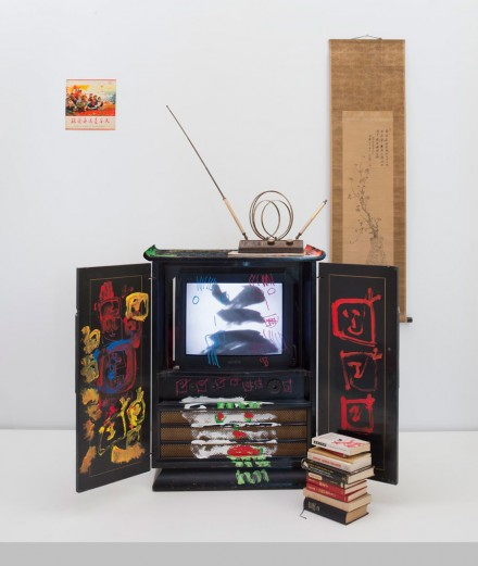 Nam June Paik, Chinese Memory (2005), © Nam June Paik Estate, Courtesy of Gagosian Gallery