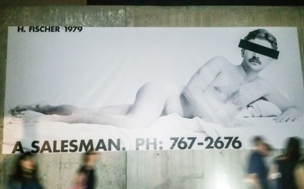 "Hal Fischer's A Salesman from ""Gay Semiotics"""