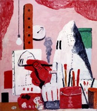 Philip Guston, he Studio, via NYT