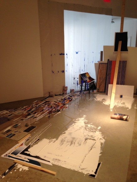 Sarah Sze at Tanya Bonakdar Gallery (Installation View)