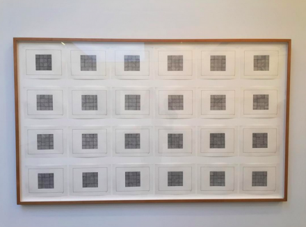 Sol LeWitt, Drawing Series I,II,III,IIII, (Drawings for Xerox Book) 24 Drawings (1968), via Art Observed