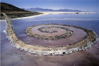 Spiral Jetty, via Art Newspaper
