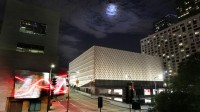 The Broad at Night, via LA Times