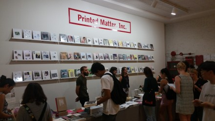 The Printed Matter Booth