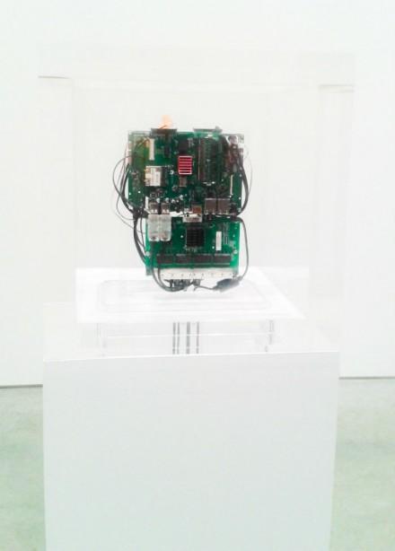 Trevor Paglen, 'Autonomy Cube' (2014), via Art Observed