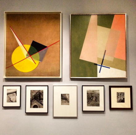Works by Laszlo Moholy-Nagy, via Art Observed