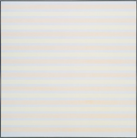 Agnes Martin, Untitled (1999-2000), via Sotheby's