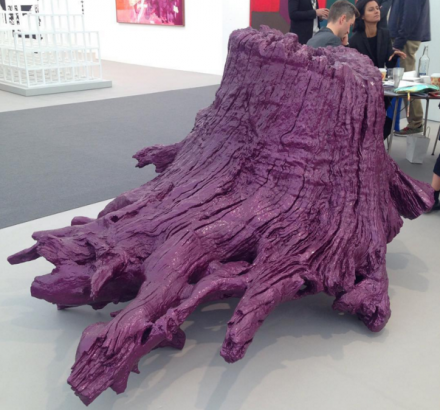 Ai Weiwei, Iron Root (2015), at Lisson Gallery