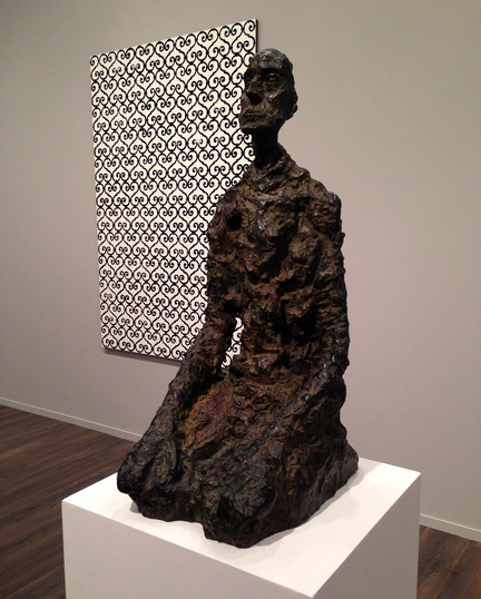 Alberto Giacometti, Buste d'homme assis (Lotar III) (1965) at Gagosian