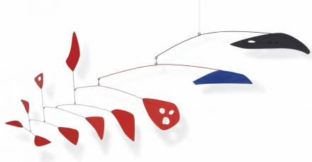 Alexander Calder, Little Red Face (1955), via Christie's