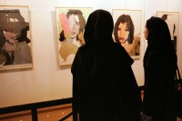 Andy Warhol works on display at the Tehran Museum of Contemporary Art, via Art Newspaper