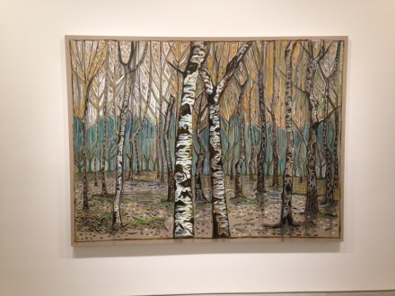 Billy Childish, birch wood (2015)