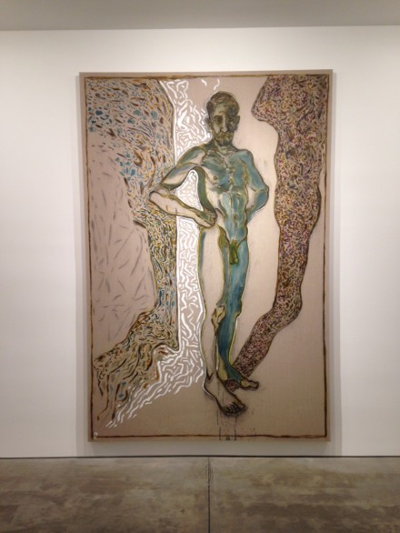 Billy Childish, nude self portrait (2015)