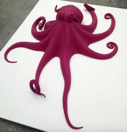 Carsten Hoeller, Octopus (2015), at Air de Paris