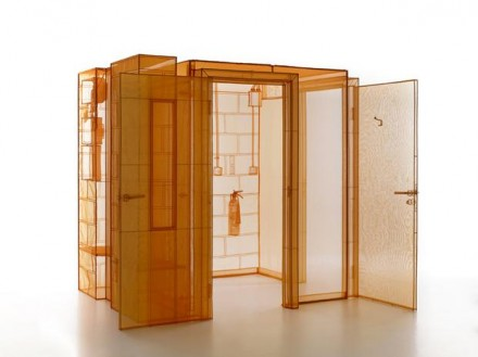 Do Ho Suh, Hub, London Studio (2015), via Lehmann Maupin