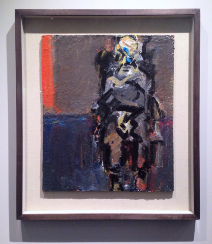 Frank Auerbach, Julia Seated II (1992), at Marlborough