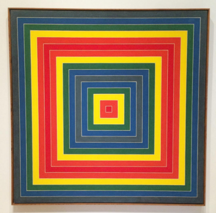 Frank Stella, Gran Cairo (1962), via Art Observed