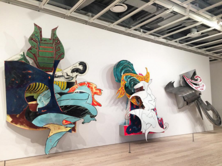 Frank Stella (Installation View), via Art Observed