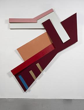 Frank Stella, Suchowola III (1973), via Marianne Boesky