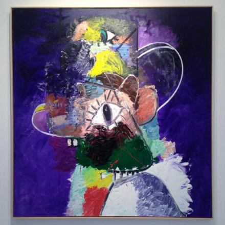 George Condo, Expression (2015), at Skarstedt