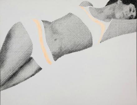 Gerald Laing, Commemoration (1965), via Christie's