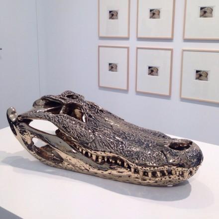 Sherrie Levine, Alligator Skull (2014), David Zwirner FIAC