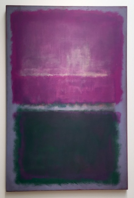 Mark Rothko, UNTITLED (LAVENDER AND GREEN)