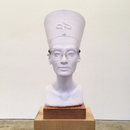 Isa Genzken, Nefertiti Sculpture (2015), via Art Observed