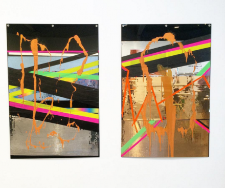 Isa Genzken, Untitled (2014) and Untitled (2014), via Art Observed