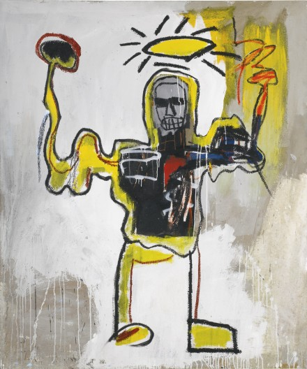 Jean-Michel Basquiat, Untitled (The Black Athlete) (1982), via Sotheby's