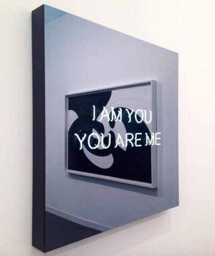 Jeppe Hein, I Am You You Are Me (2015), at König Galerie
