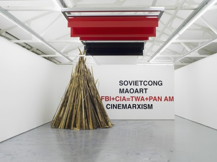 Liam Gillick, The Thought Style Meets The Collective (Installation View)