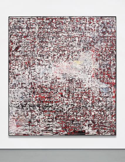 Mark Bradford, Constitution IV (2013), via Phillips