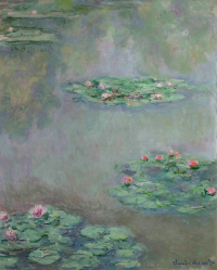 Monet's Nympheas (1908), via Bloomberg