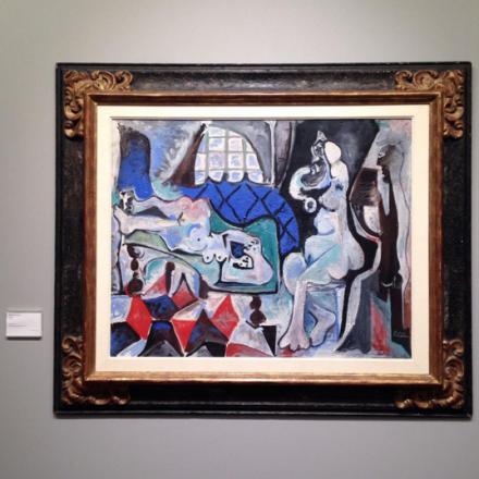 Pablo Picasso, L'Atelier (1961-62), at Acquavella,
