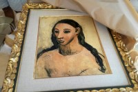 Picasso's Head of a Young Woman, via NYT