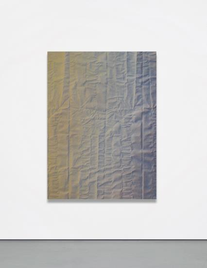 Tauba Auerbach, Fold (2011), via Phillips