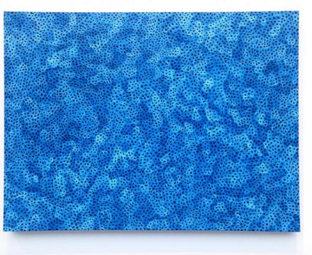 Yayoi Kusama, Infinity-Nets (XGP) (2015), at David Zwirner