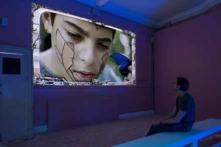 Jon Rafman (Installation View) at Zabludowicz Collection, London. Photo: Thierry Bal