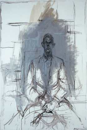 Alberto Giacometti, James Lord (1964), via Christie's