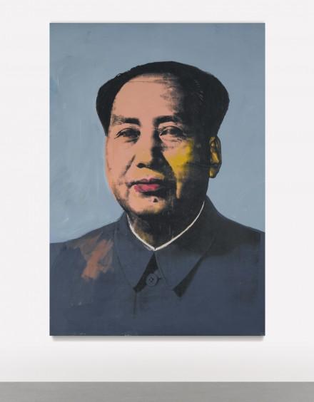 Andy Warhol, Mao (1972), via Sotheby's