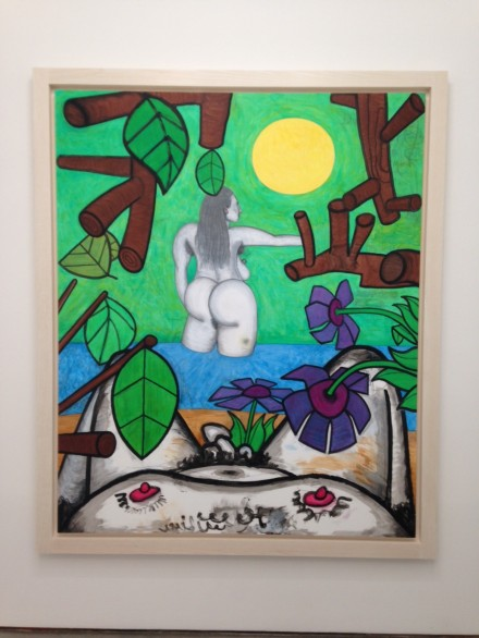 Carroll Dunham, Now and Around Here (2) (2014-2015)